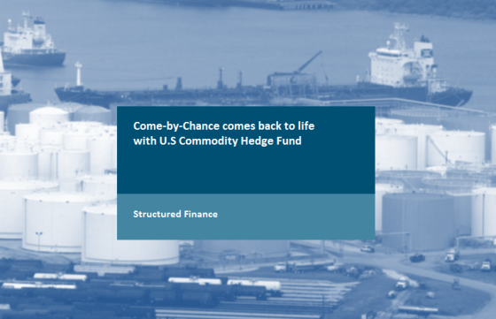 Come-by-Chance comes back to life with U.S Commodity Hedge Fund