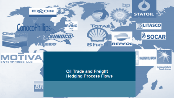 Oil Trade and Freight Hedging Process Flows logo 2