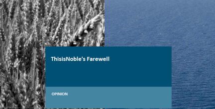 ThisisNoble's Farewell