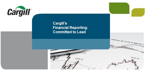 Cargill financial reporting