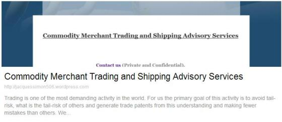 commodity-merchant-trading-and-shipping-advisory-services